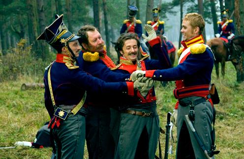 Князь Кикнадзе, унтер Птуха, поручик Горжевский и юнкер Тарусов – один за всех, и все за одного!