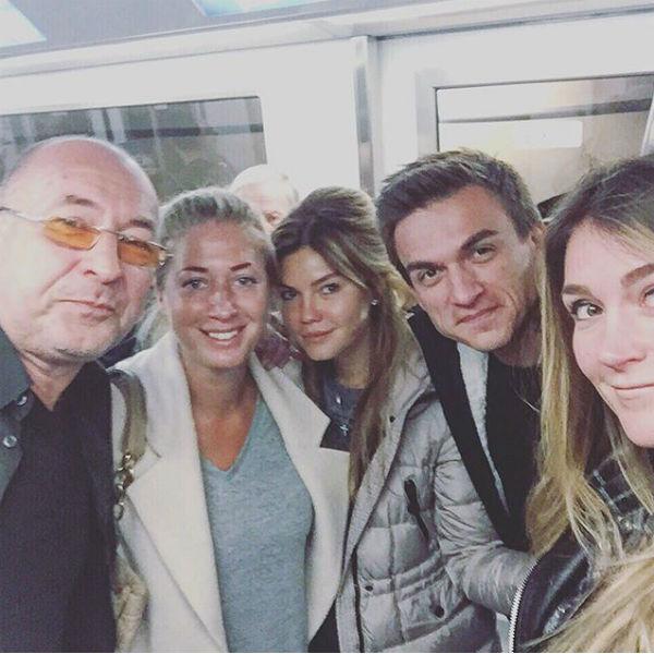 Влад Топалов в кругу семьи