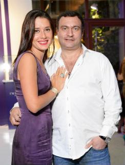 Яна Лапутина с мужем Отари Гогиберидзе