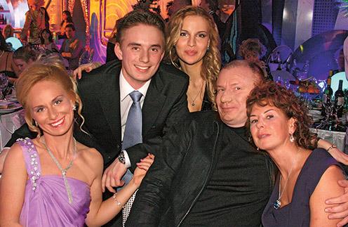 Владимир Потанин с первой женой Наталией