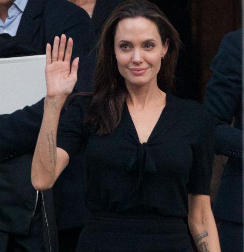 Анджелина Джоли в Греции