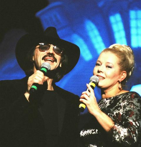 Михаил и Людмила Сенчина на концерте в БКЗ «Октябрьский», 1997 год