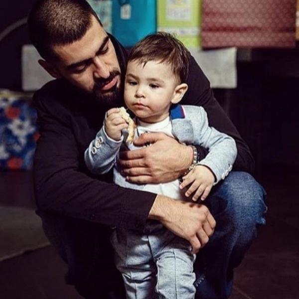 MiyaGi с сыном