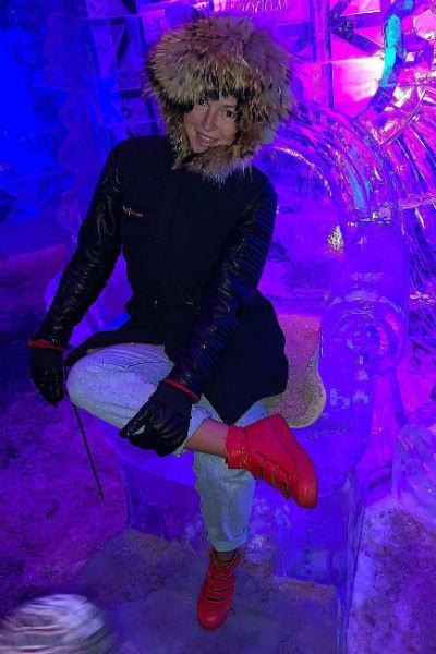 Нюша вернулась в Россию после рождения дочери