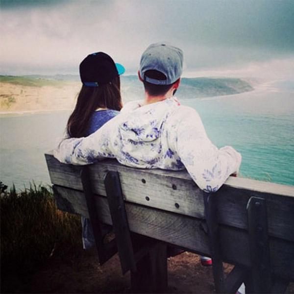 Джастин и Джессика любуются природой Новой Зеландии