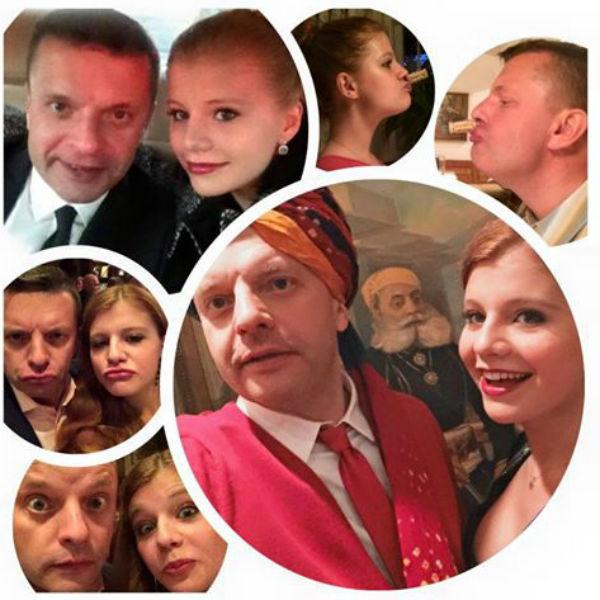 Дочь Леонида Парфенова подготовила для него интересное фото-поздравление