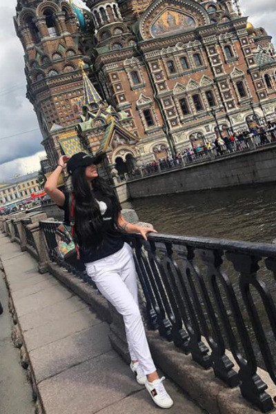 Виктория Романец в Санкт-Петербурге