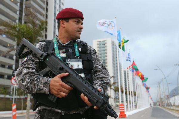 В связи с Олимпиадой в Рио-де-Жанейро усилили меры безопасности