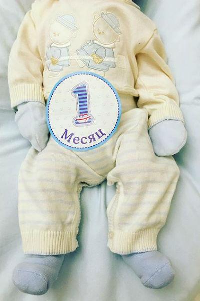 В день рождения мальчику выбрали милый наряд