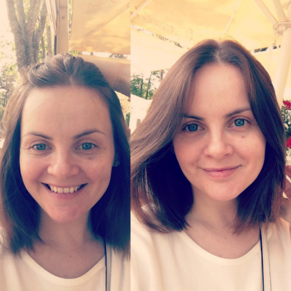 Юлия опубликовала фото без макияжа