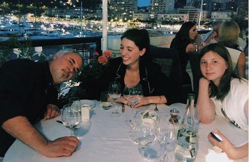 Валерий Меладзе с Ингой и Ариной