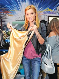 Бородина знает толк в одежде.  В 2013 году она устроила благотворительный аукцион, на котором распродавала свои наряды. Поклонницы занимали очередь за платьями Ксюши
