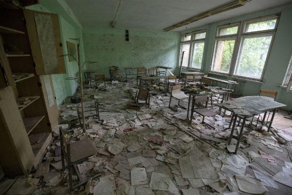 Припять — чернобыльская зона отчуждения