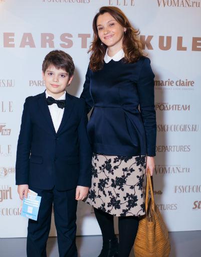 Трефилова Полина с сыном