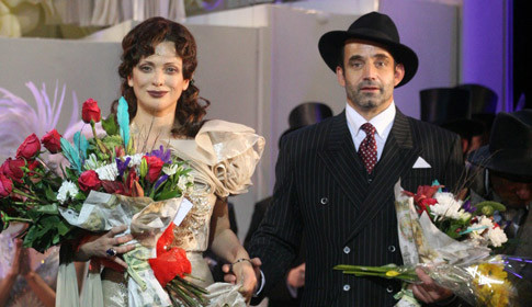 Ольга Дроздова запела в мюзикле вместе с мужем