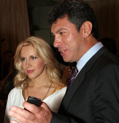 Екатерина Одинцова и Борис Немцов