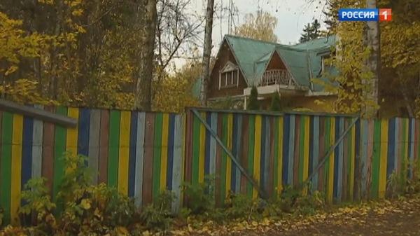 Дом, в котором, по данным журналистов, находился актер