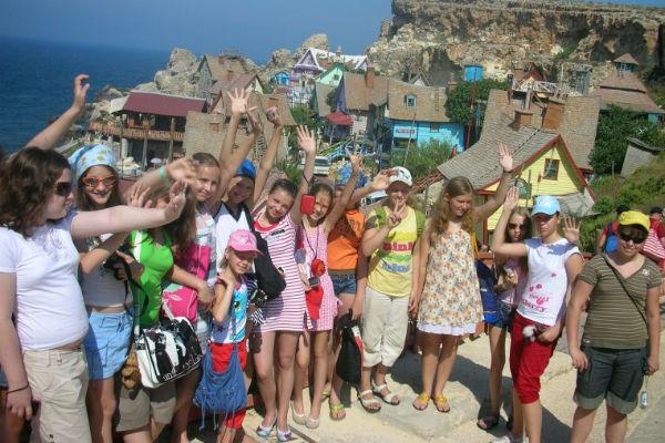 Детский туризм на Мальте