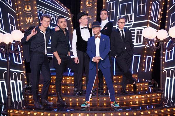 Дмитрий и участники шоу «Ленинградский Stand-up клуб»