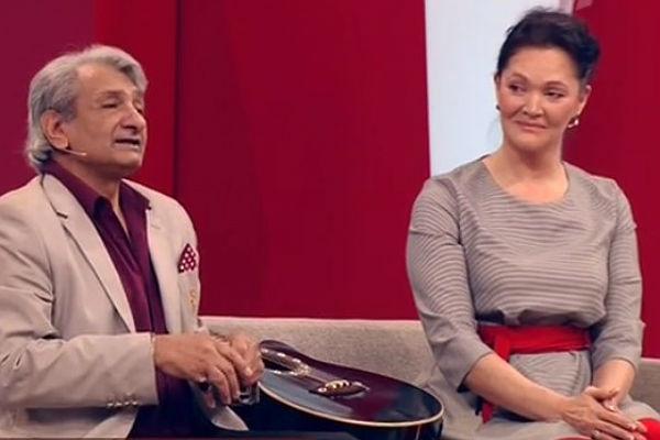 Василий Васильев с супругой Марианной