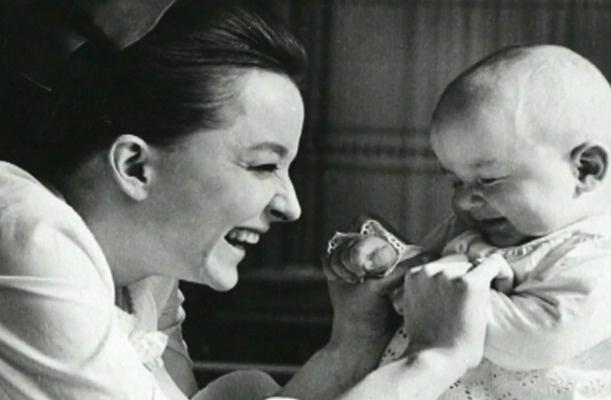 Вертинская с сыном Степаном