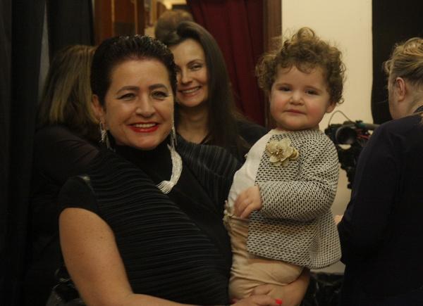 Супруга Эммануила Виторгана с дочерью Этель