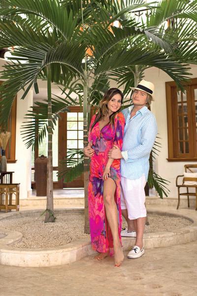 Они все еще не решили, когда  вернутся из Доминиканы –  слишком хорошо там отдыхается