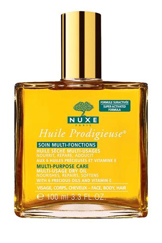 Nuxe, Сухое масло для лица, тела и волос Huile Prodigieuse, 1050 руб.