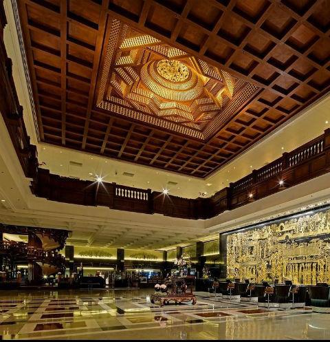 Дизайнеры разработали эксклюзивный интерьер отеля