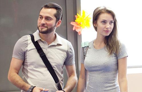 Ираклий Пирцхалава с женой Софией
