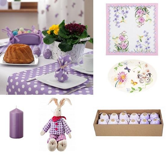Салфетки и блюдо Zara Home, декоративные яйца и мягкая игрушка Mr.Dom, Свечка IKEA