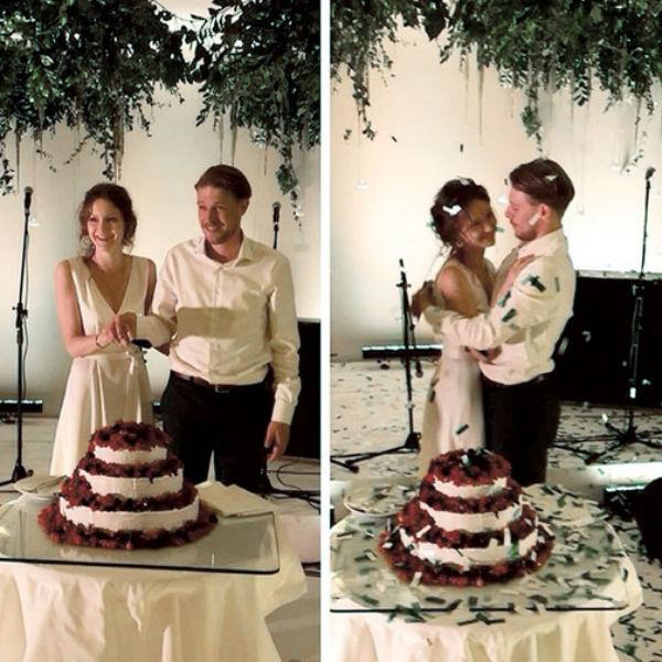 Яна и Никита поженились в прошлом году