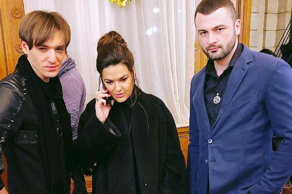 Александр присутствовал на финале вместе с другими участниками предыдущих сезонов