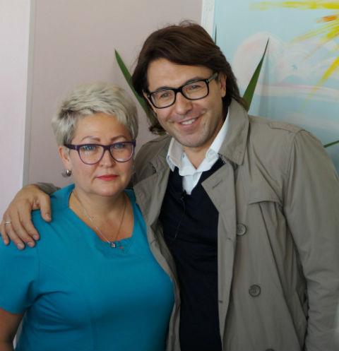 Елена Лыкосова и Андрей Малахов