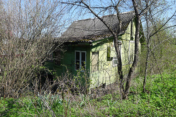 Участок с домиком в Одинцово