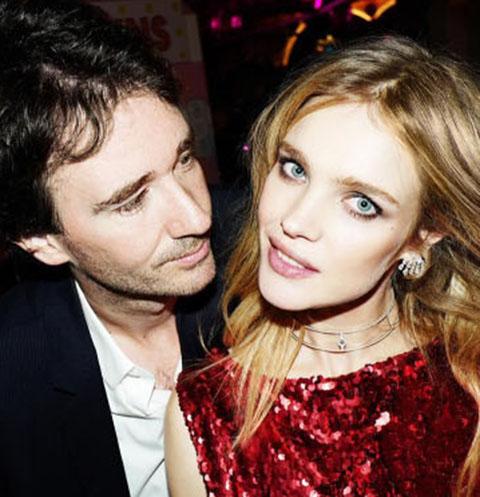 Наталья Водянова и ее гражданский муж Антуан Арно