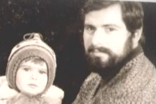 Вальдемар Иванцив с дочерью Лизой (певица Елка)