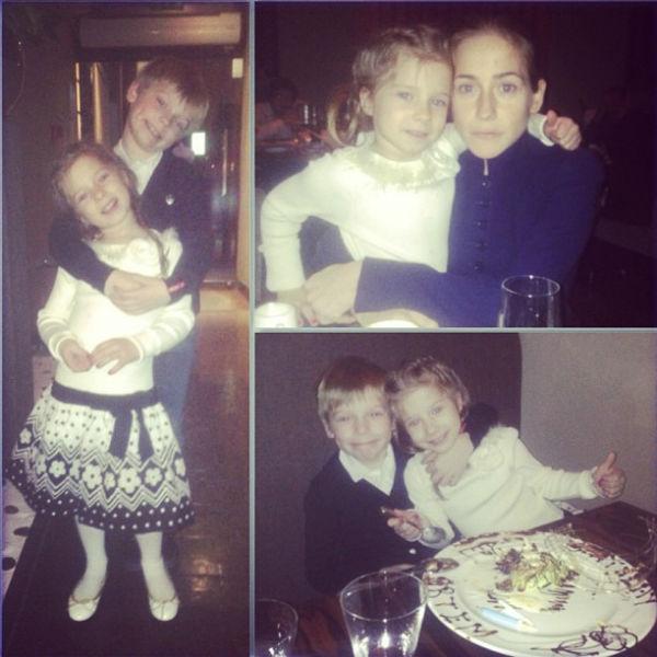 С Яной и Артемом