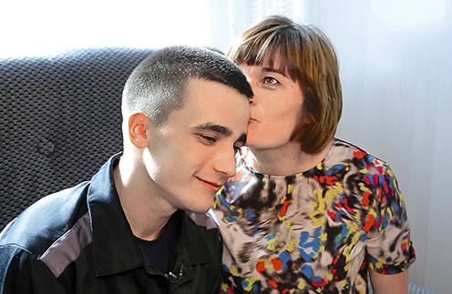 Семенов со своей мамой