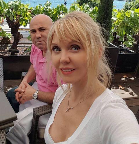 Певица Валерия и Иосиф Пригожин