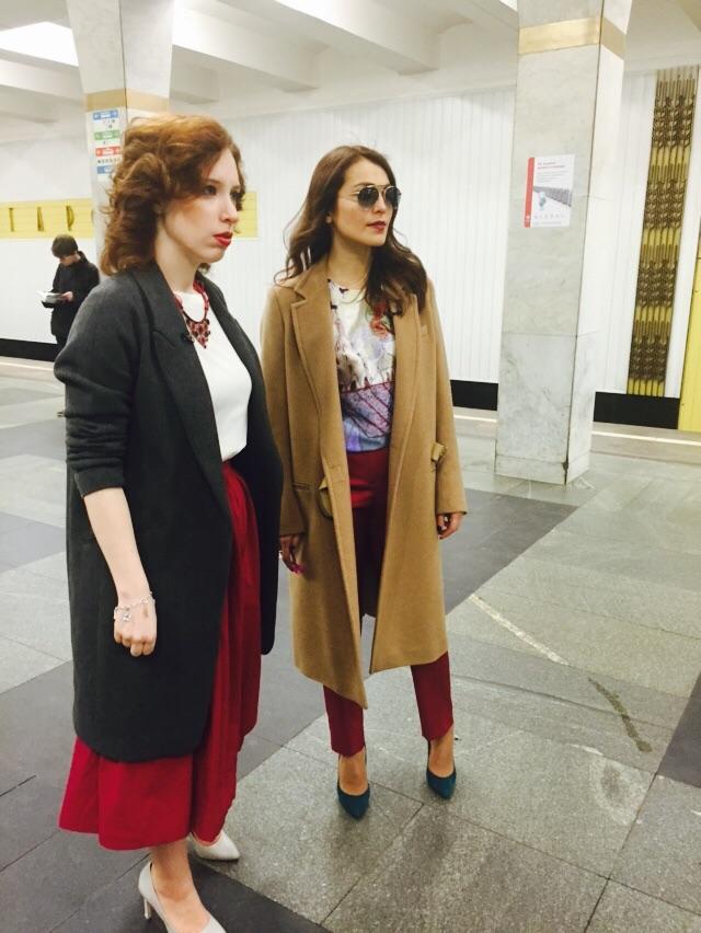 Сати Казанова в московском метро