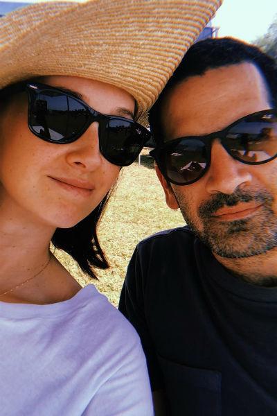 Анастасия и ее муж Надав проводят много времени вместе