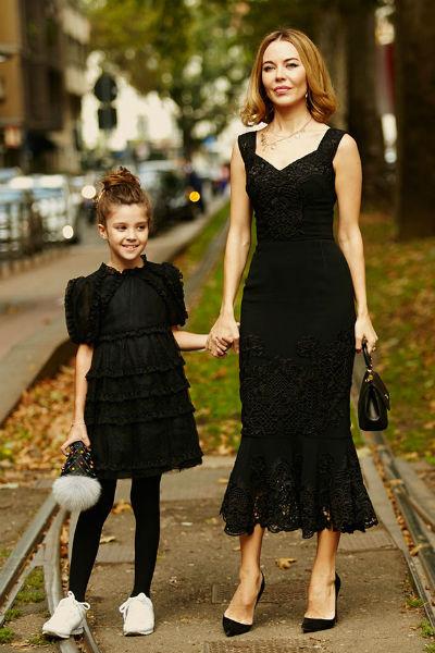 Ульяна с дочерью Василисой