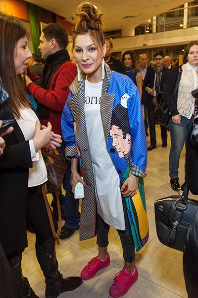 Актриса на церемонии вручения премии «Ника». 31 марта, Москва