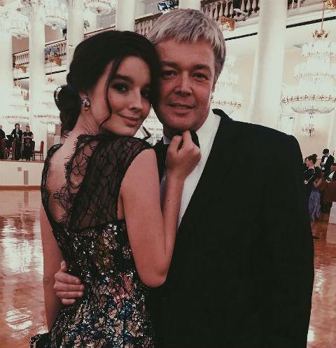 Александр Стриженов с дочерью