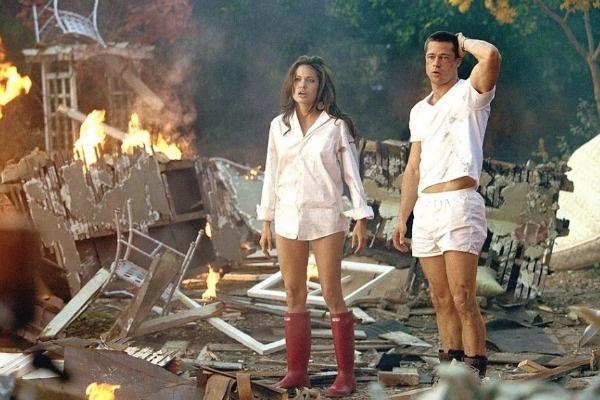 Джоли и Питт познакомились 12 лет назад на съемках фильма «Мистер и миссис Смит»
