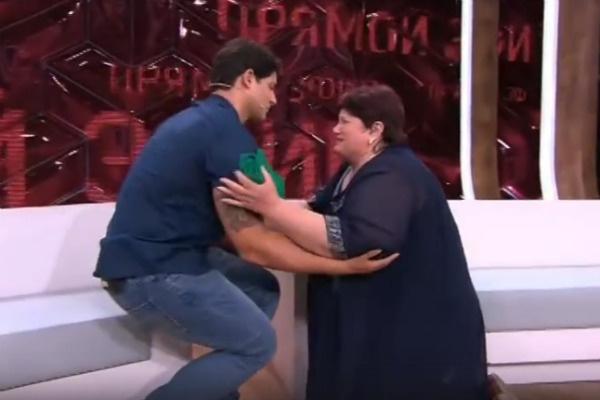 Светлана упала на колени, когда увидела сына