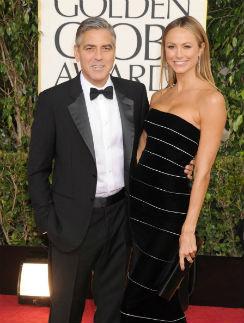 Джордж Клуни и Стейси Киблер были вместе 2 года