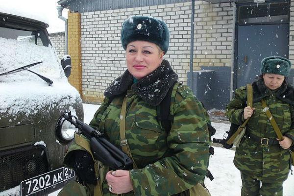 Галина Фадеева, Чечня