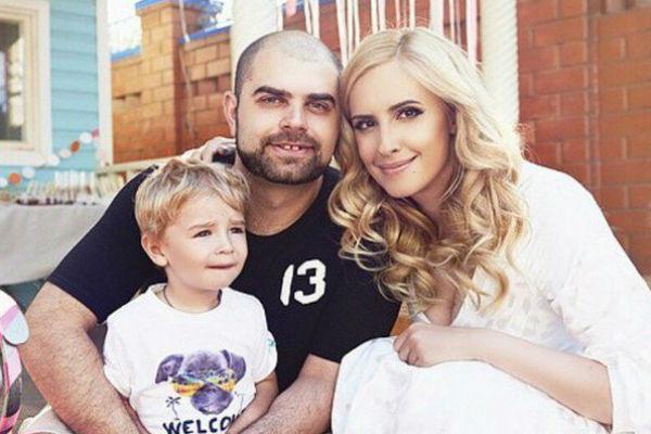 Илья и Ольга Гажиенко с сыном